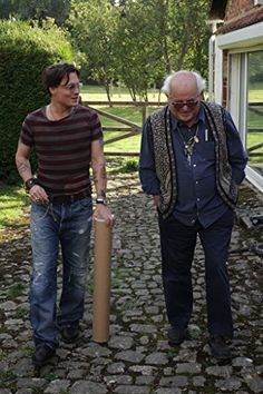 Johnny Depp and Ralph Steadman in For No Good Reason (2012)