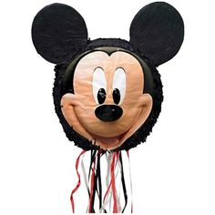 Item Includes x x Disney Mickey Mouse Pull-String Pinata Color: Multi-Colored. Mickey Mouse Pinata Party Decorations and Accessories Pinata Mickey Mouse, Disney Mickey Mouse, Mickey Mouse Party Games, Mickey Mickey, Mickey Mouse Party Supplies, Theme Mickey, Mickey Mouse Clubhouse Birthday, Mickey Mouse Head, Mickey Party