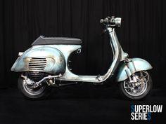 Superlow Series Rawstyle 15028 | Custom Vespa Galerie | CUSTOM VESPA | Scooter & Service Custom Vespa, Vespa Scooters