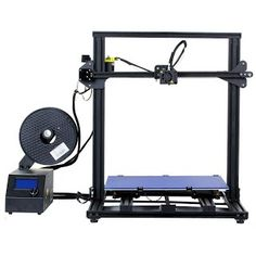 """""""Features & Benefits"""" Creality 3D Printer CR-10 S4 with Filament Monitor Senser Dual Z Rod Screws 400x400x400mm"""