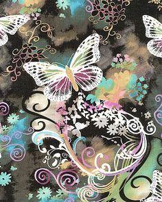 Magical butterflies.  Ahhh . . .