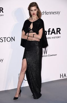 Lindsey Wixson at Cannes amfAR Gala 2015