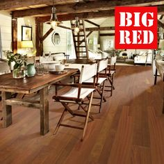 Kahrs Original World Collection Jatoba Brasilia FSC: Best prices in the UK from The Big Red Carpet Company Kahrs Flooring, Hard Floor, Red Carpet, Hardwood, The Originals, Big, Furniture, Collection