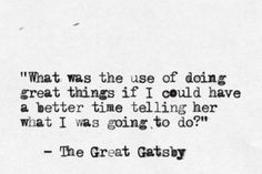 The Great Gatsby by F. Scott Fitzgerald  submission from songofpurple-sherlock