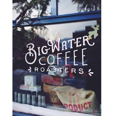 Big Water Coffee; Bayfield, WI The BEST coffee shop ever! My personal favorite!!