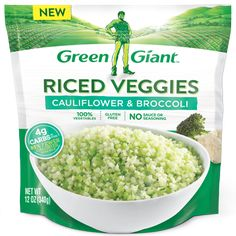 Green Giant® Riced Cauliflower & Broccoli