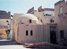 View of Hassan Fathy's house in new Gourna