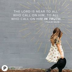 Need Him? He's there. Call on Him, cry out from your heart, you can trust Him.