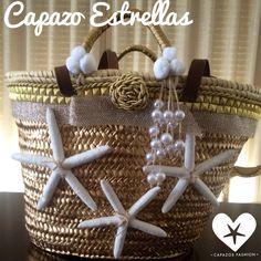 Capazo Estrellas White