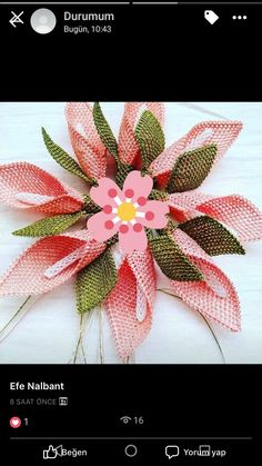 This Pin was discovered by Nur Needle Lace, Eminem, Diy Flowers, Elsa, Projects To Try, Embroidery, Beach Crafts, Embroidery Stitches, Angels