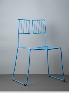 Milan Blue WSC Chair By Well-Groomed-Fox
