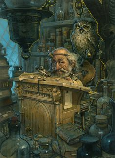 Illustrations by Jean-Baptiste Monge - Montreal/ Canadá.