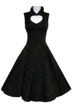 nice Black Brocade Gothic Dress by Hearts & Roses | Ladies Gothic by http://www.polyvorebydana.us/gothic-fashion/black-brocade-gothic-dress-by-hearts-roses-ladies-gothic/