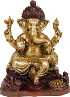 An exhaustive collection of Hindu Statues and Sculptures ranging from Shiva Lingas to Nataraja, Lord Ganesha to Lord Krishna and more at ExoticIndia. Ganesha Drawing, Lord Ganesha Paintings, Ganesh Statue, Shri Ganesh, Hanuman, Ganesha Pictures, Ganesh Images, Shiva Linga, Shiva Shakti