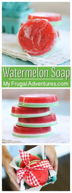 nice Amazing Homemade Watermelon Soap
