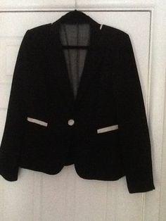 Kay Ungar Black with white details Jacket