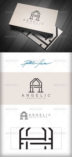 Letter A - Architectural - Interior Design Logo  #GraphicRiver         Letter A – Abstract Letter A Architect logo – utiliso for prestige business logo, clothing, fashion, wine label, sommelier, hotels, sports team, designer, night-club logo or restaurant, architect, property developer, draughtsman, tradesperson or builder. Adapto for variety purpose. Easily to print.