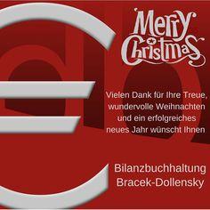 Fröhliche Weihnachten Business Accounting