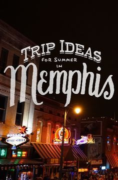Summer trip ideas for two days of music in Memphis, Tennessee. Stops include Rock N' Soul Museum, Cozy Corner BBQ, Levitt Shell, Goner Records, and more!