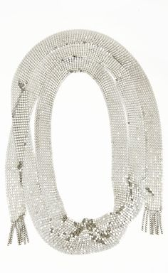 Isabel Marant Silver Necklace / Scarf