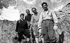 Walter Bonatti, right, on the Italian side of Mont Blanc in died at 81 in He often made difficult climbs on the tallest mountains alone. Machu Picchu, Hans Kammerlander, Mount Everest, Ski, Chamonix Mont Blanc, Nepal, Alpine Style, Mountain Climbers, Mountain Man