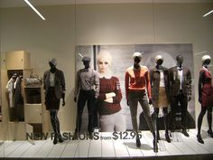 H&M West Edmonton Mall August 22 2012 Fall Fashions are here!   by darrellinyvr