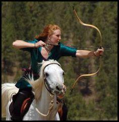 Horseback archery is something I dream about mastering.