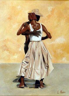 Cubanos bailando. <3