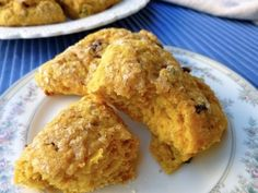 Low Fat Cranberry-Pumpkin Scones | Easy Healthy Weight Watchers Friendly Recipes | Simple Nourished Living