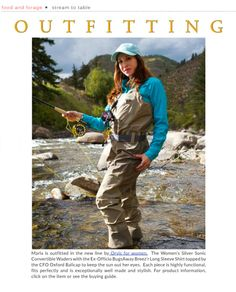 The DB Mag - Winter 2015 | MarlaMeridith.com Women Fishing, Fly Fishing, Suns Out, Oxford, Outdoors, Adventure, Winter, Books, Outfits