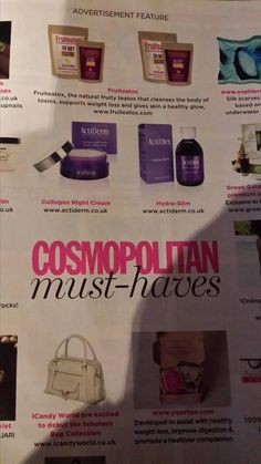 Cosmo's Must Haves! #ActiDerm see amazing!  https://acti-labs.com/me/danielle-schnede