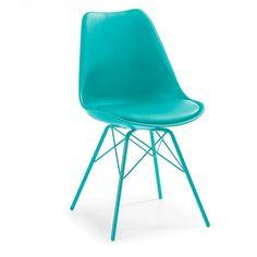 Silla Ralf, color turquesa · 62€