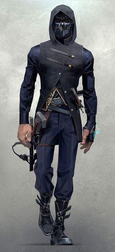 Corvo Attano from Dishonored 2: