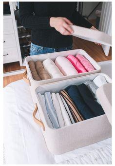 Small Closet Storage, Linen Closet Organization, Wardrobe Storage, Storage Spaces, Organizing Small Closets, Storage Ideas, Bedroom Organisation, Attic Storage, Master Closet