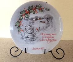 Winter Scene III Robert Laessig CHRISTMAS by ContemporaryVintage