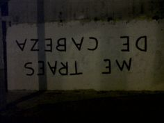 accion poetica ... ME TRAES DE CABEZA