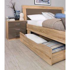 Wood Bed Design, Bedroom Bed Design, Small Room Bedroom, Room Decor Bedroom, Diy Bedframe With Storage, King Storage Bed, Interior Design Layout, Interior Design Living Room, Modern Bedroom Furniture
