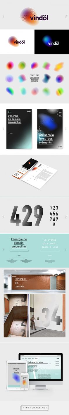 Vindöl Identity on Behance... - a grouped images picture - Pin Them All