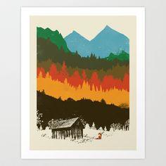 hunting scene - by dan elijah g. fajardo