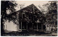 Bakers Store Comstock New York NY RPPC Washington County 1914 Fort Ann