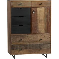 Crate & Barrel Atwood Tall Chest