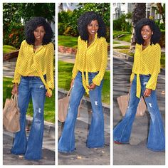 Today's Post: Vintage flares