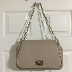 Chico's Convertible Taupe Cross Body Shoulder Bag | Cross Body Bags on Sale