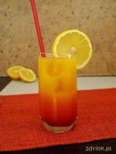 Co to jest Vodka Sunrise – tego nie muszę chyba tłumaczyć nikomu, kto słyszał lub próbował drink Tequila Sunrise. Tu skład jest podobny, ale tequilę zastępuje wódka. Cocktails, Drinks, Good Food, Candles, Meals, Tequila Sunrise, Recipes, Gastronomia, Diet