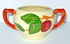 Franciscan Apple Sugar Bowl