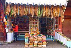 Moroccan Spice by thisismarysharp1  Jemaa el Fna Marrakech Morocco herb herbs market medina shop soap spice travel thisismarysharp1
