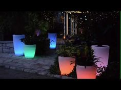 Outside Mood Lighting