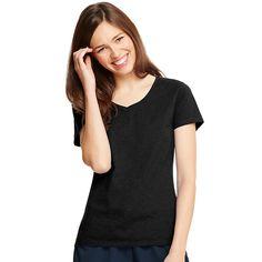 Hanes X-Temp V-Neck T-Shirt 42V0