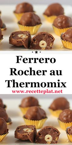 Ferrero Rocher, Lidl, Dessert Thermomix, Biscuits, Muffin, Tasty, Treats, Cookies, Breakfast