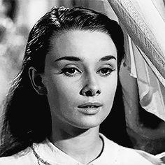 Audrey em Roman Holiday, 1953